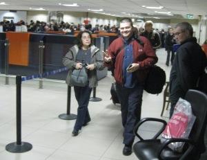 Piotr's arrival in Delhi